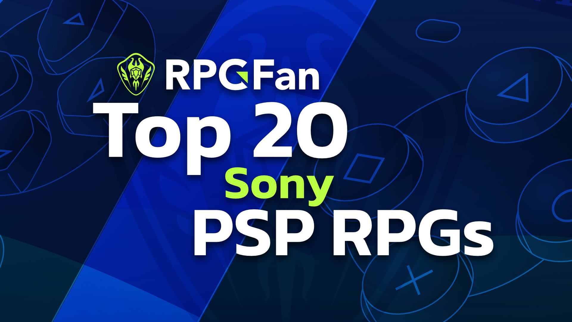 Top 20 PSP RPGs Featured