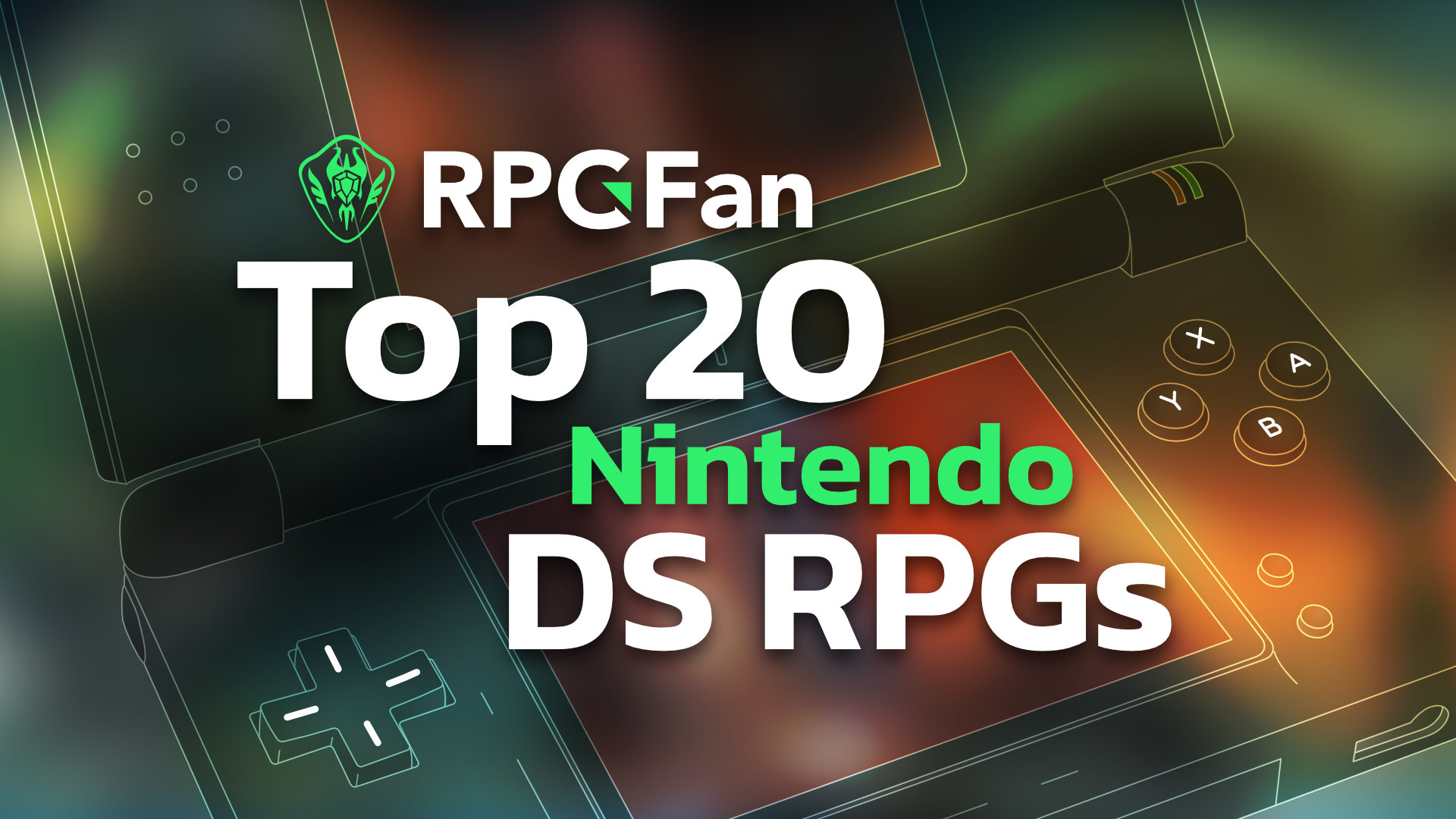 Top 20 Nintendo DS RPGs Featured