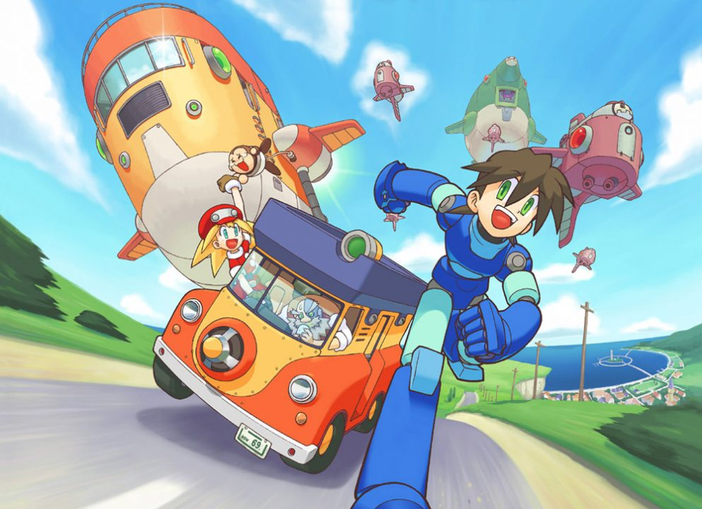 Mega Man Legends Key Art