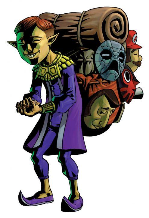 Happy Mask Salesman from The Legend of Zelda: Majora's Mask
