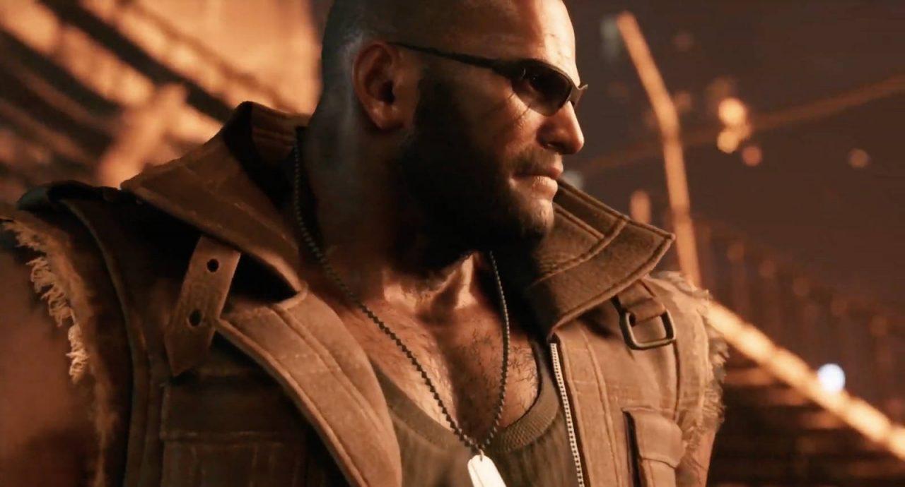Barrett from Final Fantasy VII Remake