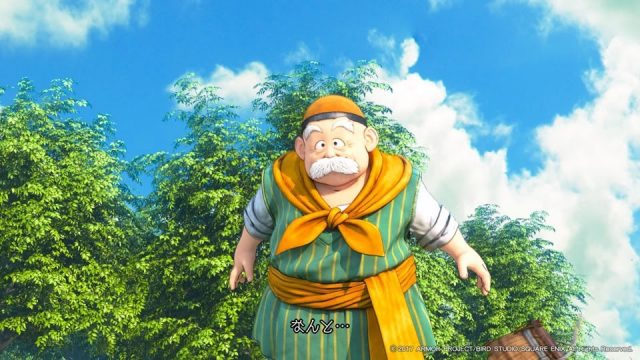 Chalky from Dragon Quest XI: Echoes of an Elusive Age