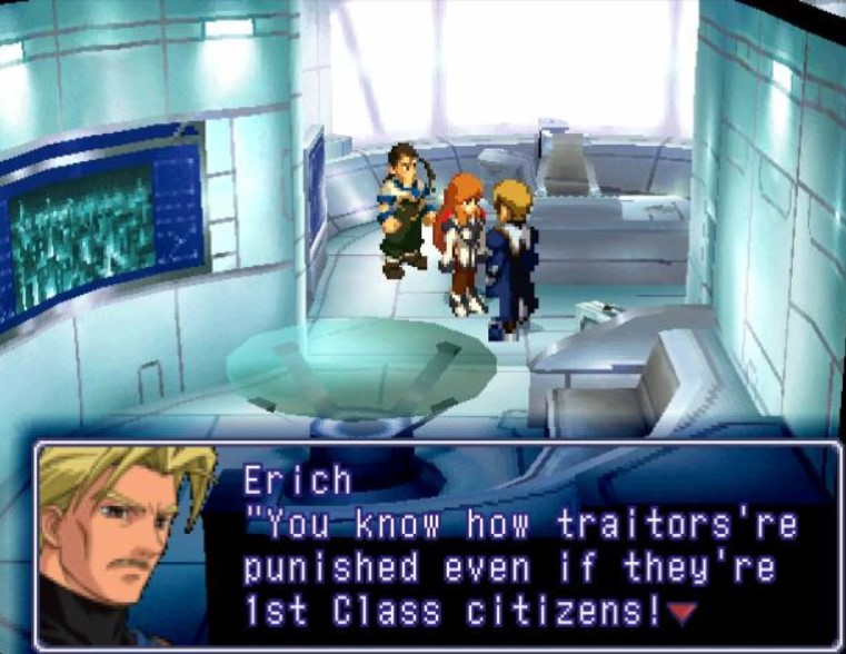 Erich from Xenogears