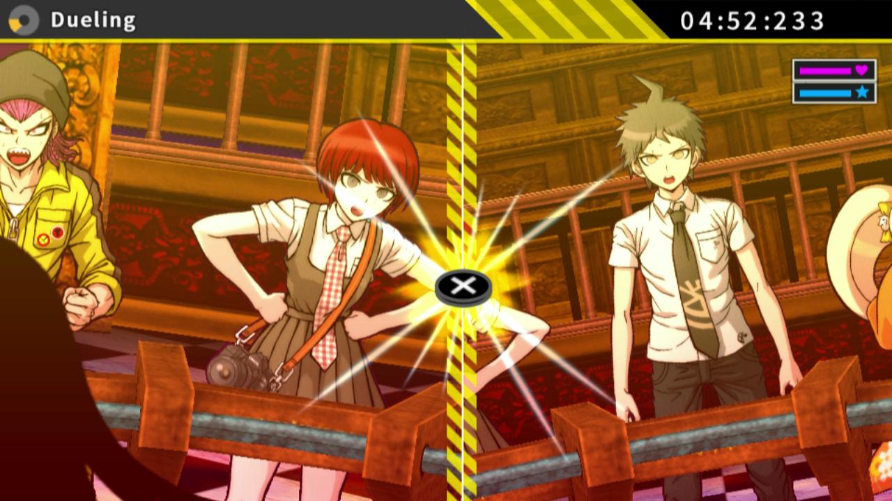 Screenshot Featuring A Logic Showdown In Danganronpa 2 Goodbye Despair