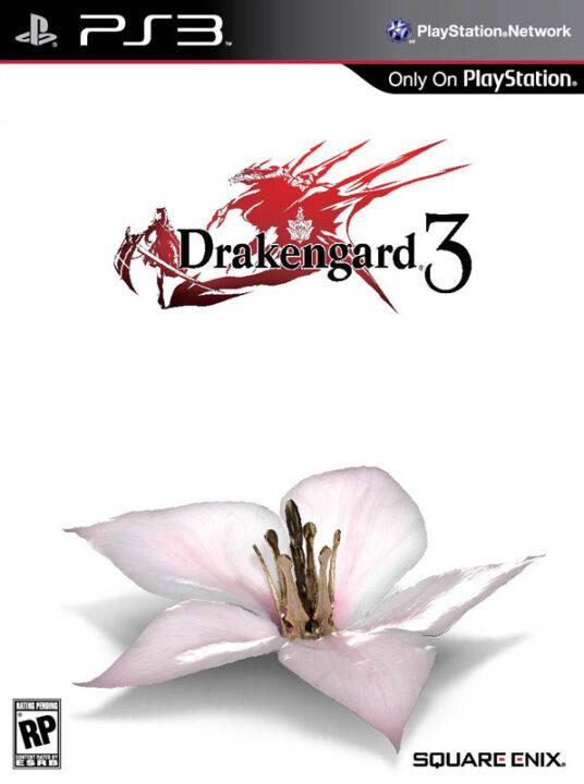 Drakengard 3 PS3 Cover Art Preliminary