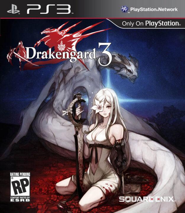 Drakengard 3 PS3 Cover Art