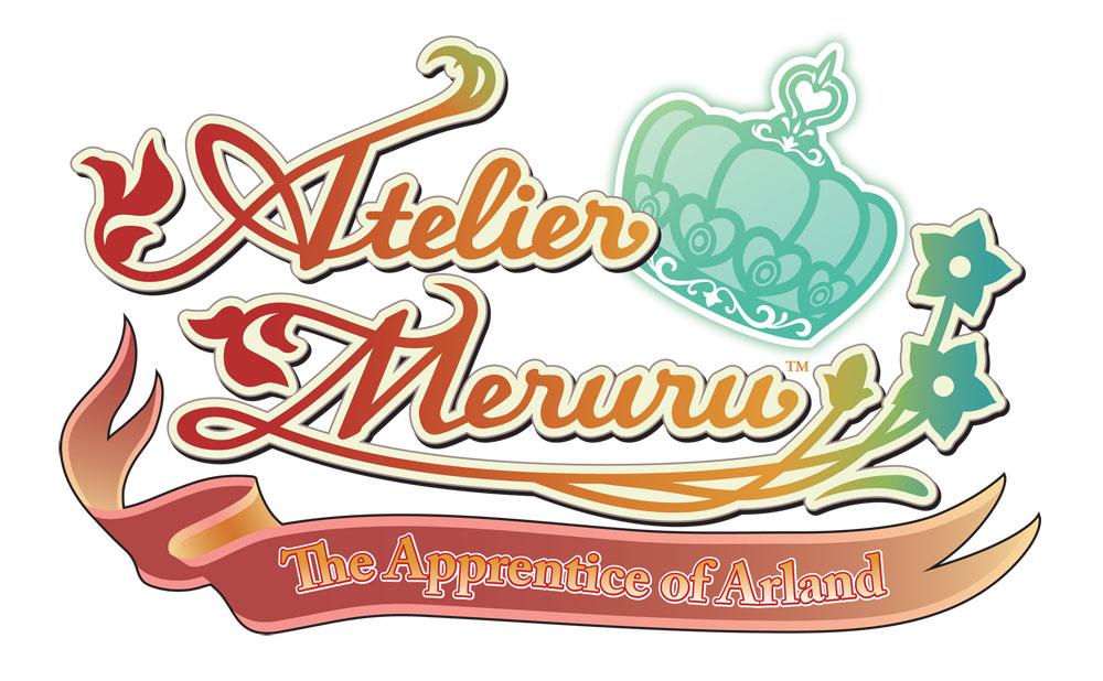 Atelier Meruru: The Apprentice of Arland Logo (US)