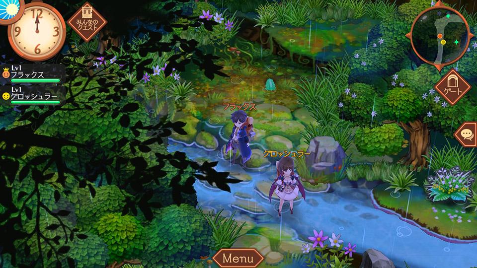 Atelier Online: Alchemist of Bressisle Walking Through a Lovely Woods