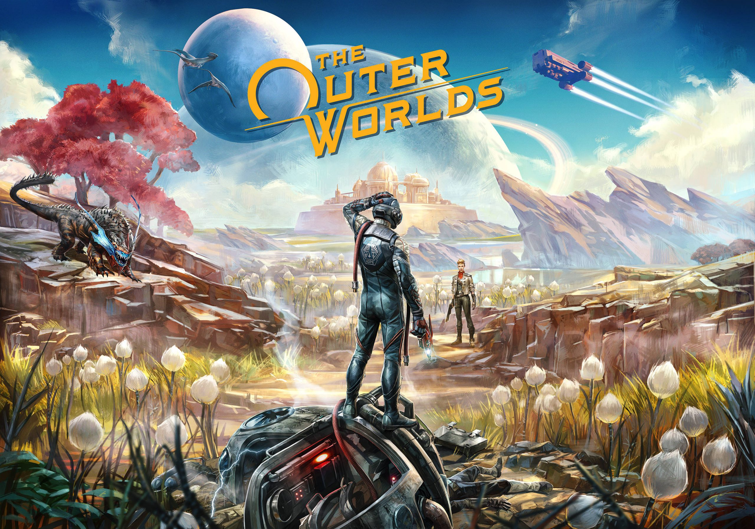 Key Art From The Outer Worlds