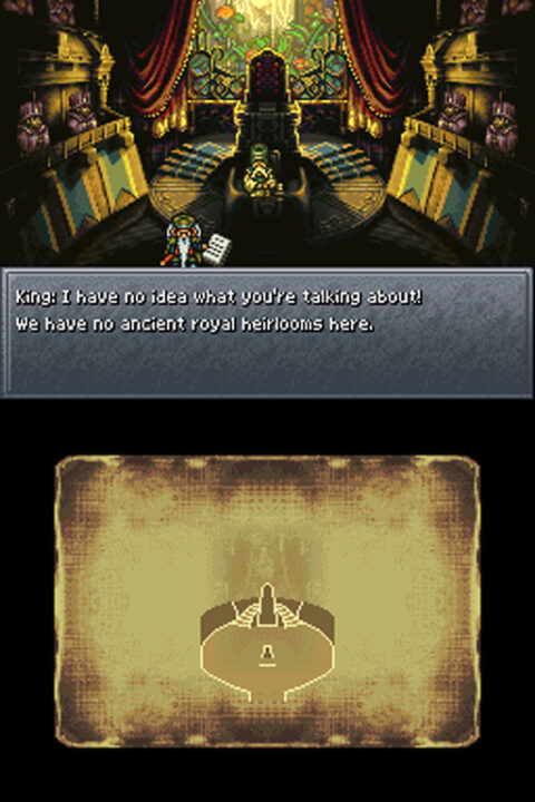 This isn't the trial! A side quest scene from the Chrono Trigger DS port.