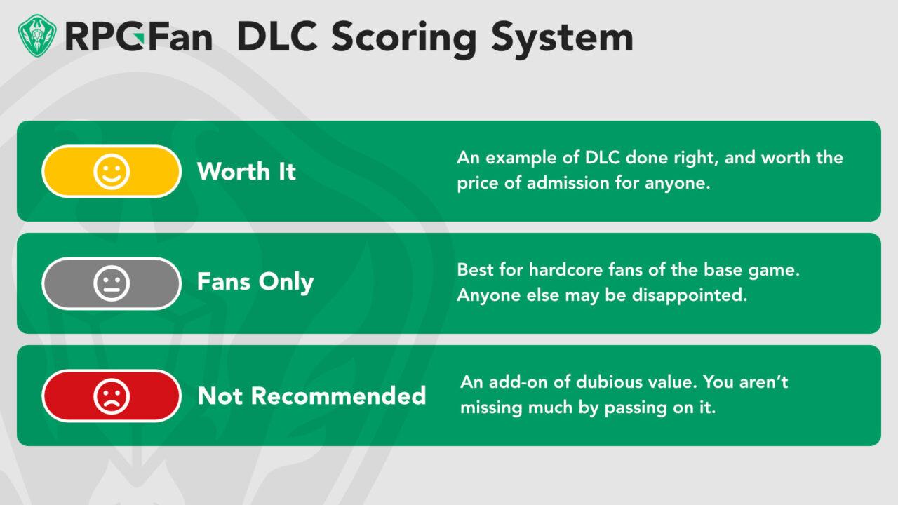 RPGFan DLC Review Scoring System