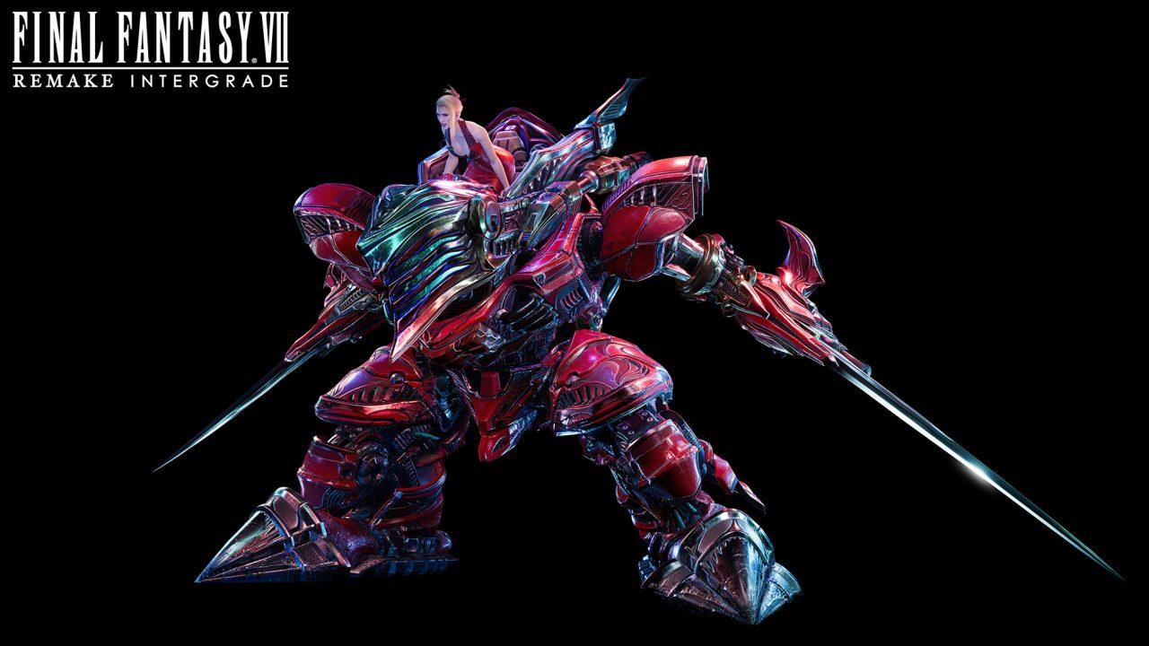 Artwork Of Scarlet And Crimson Mare From Final Fantasy VII Remake