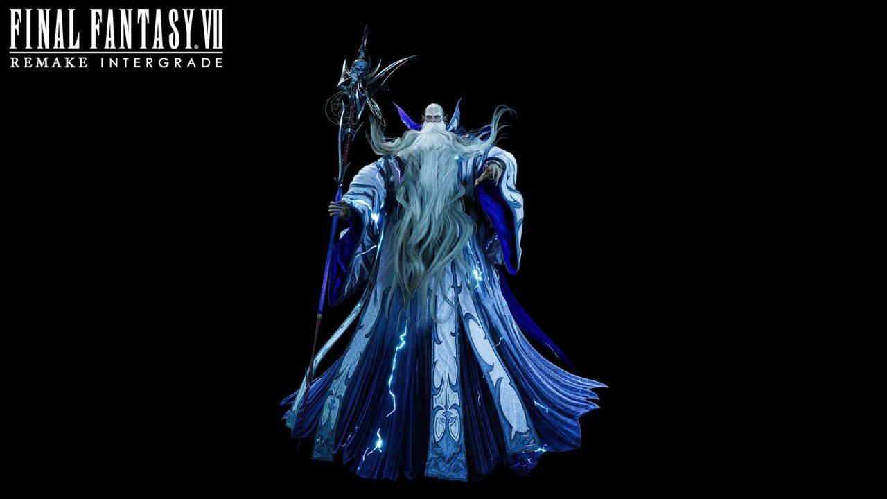 Artwork of Ramuh From Final Fantasy VII Remake