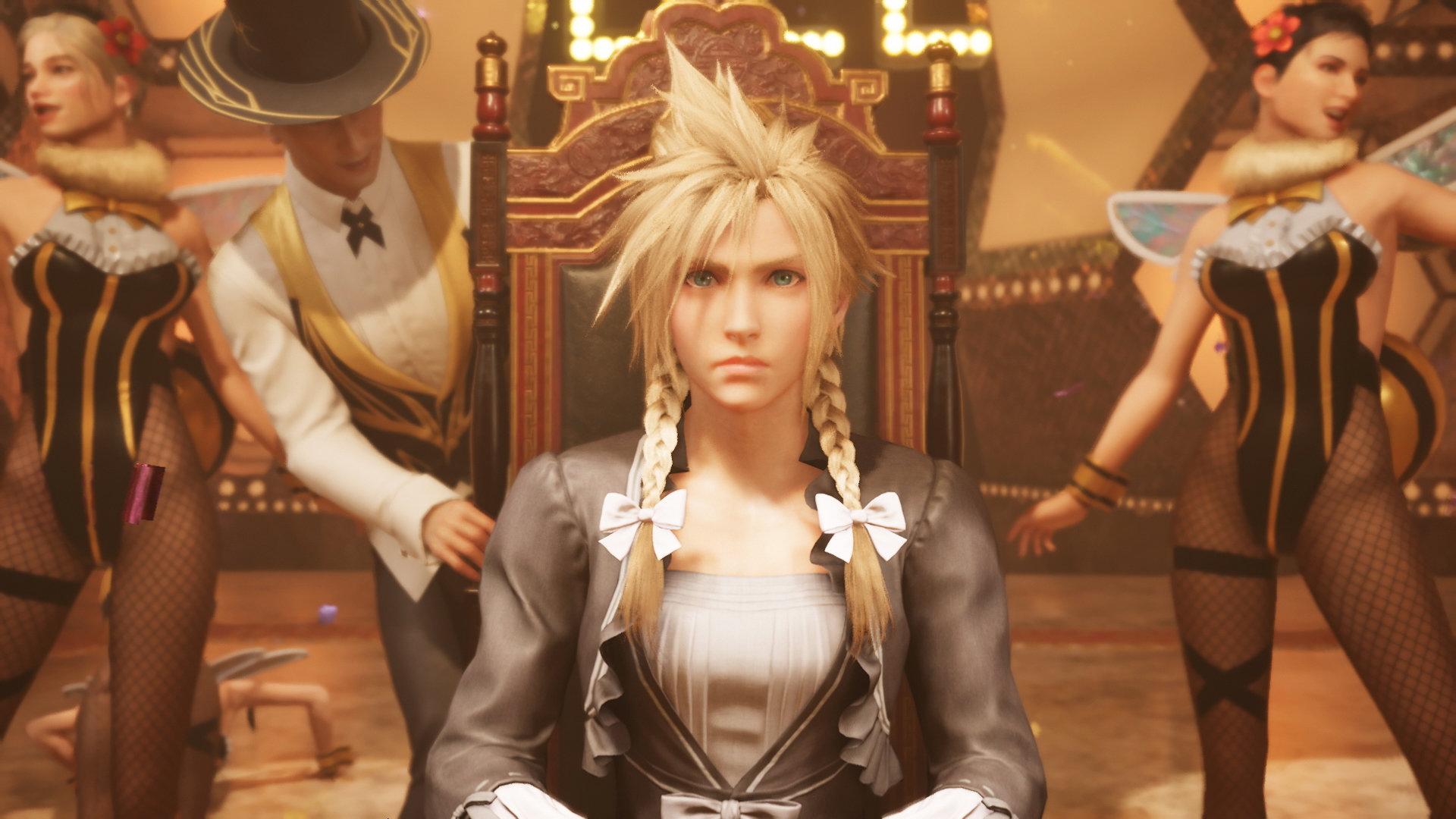 Cloud Strife, the beautiful heroine of Final Fantasy VII.