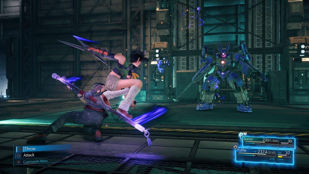 Screenshot From Final Fantasy VII Remake Intergrade