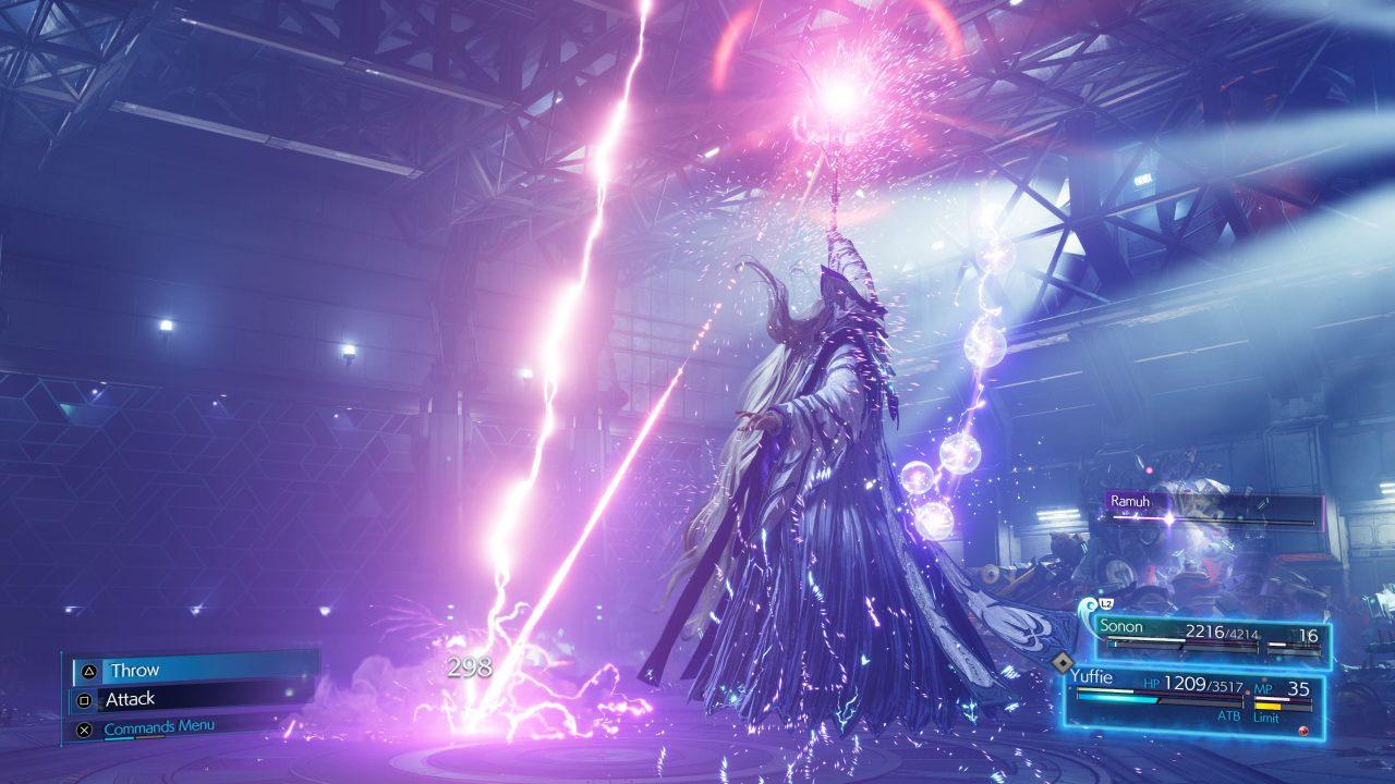 Screenshot From Final Fantasy VII Remake