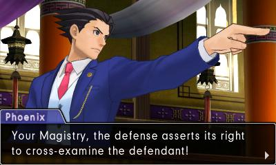 Phoenix from Phoenix Wright Ace Attorney: Spirit of Justice