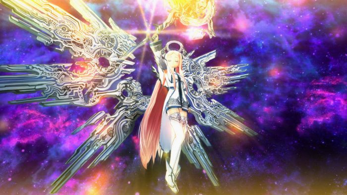 An image of an angelic looking character in Ar nosurge: Ode to an Unborn Star.