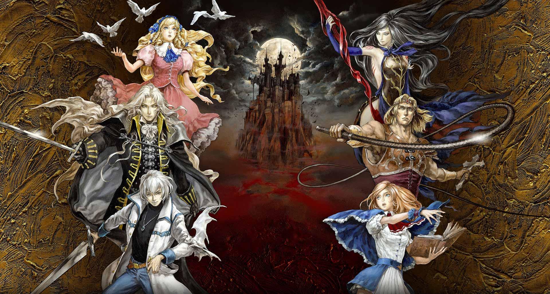 Key Art From Castlevania: Grimoire of Souls