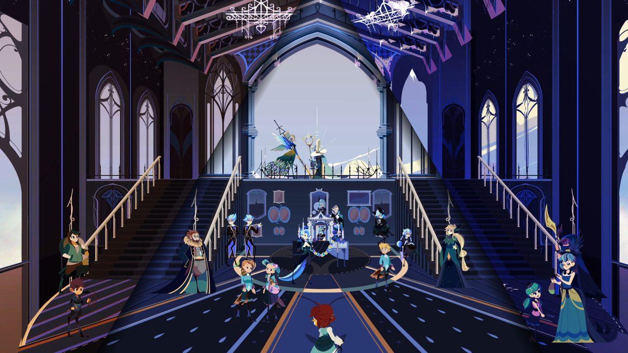 Cris Tales screenshot of an imposing blue area