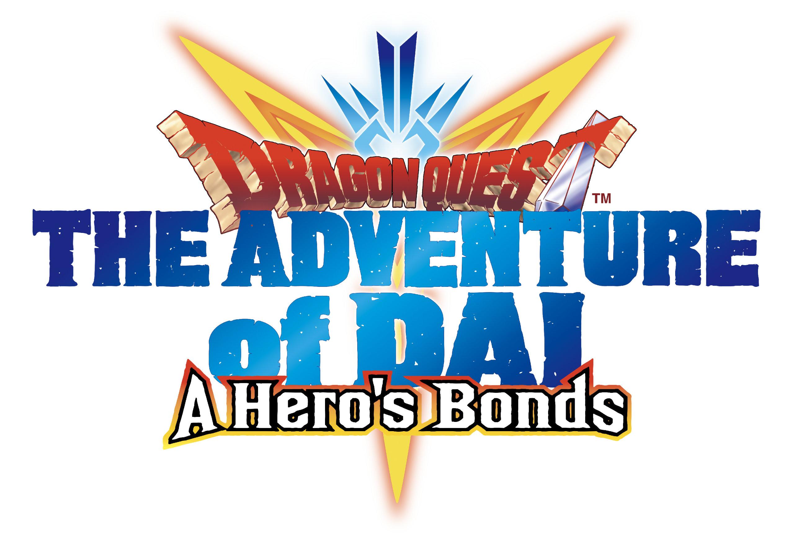 Dragon Quest The Adventure of Dai: A Hero's Bonds Logo (US)