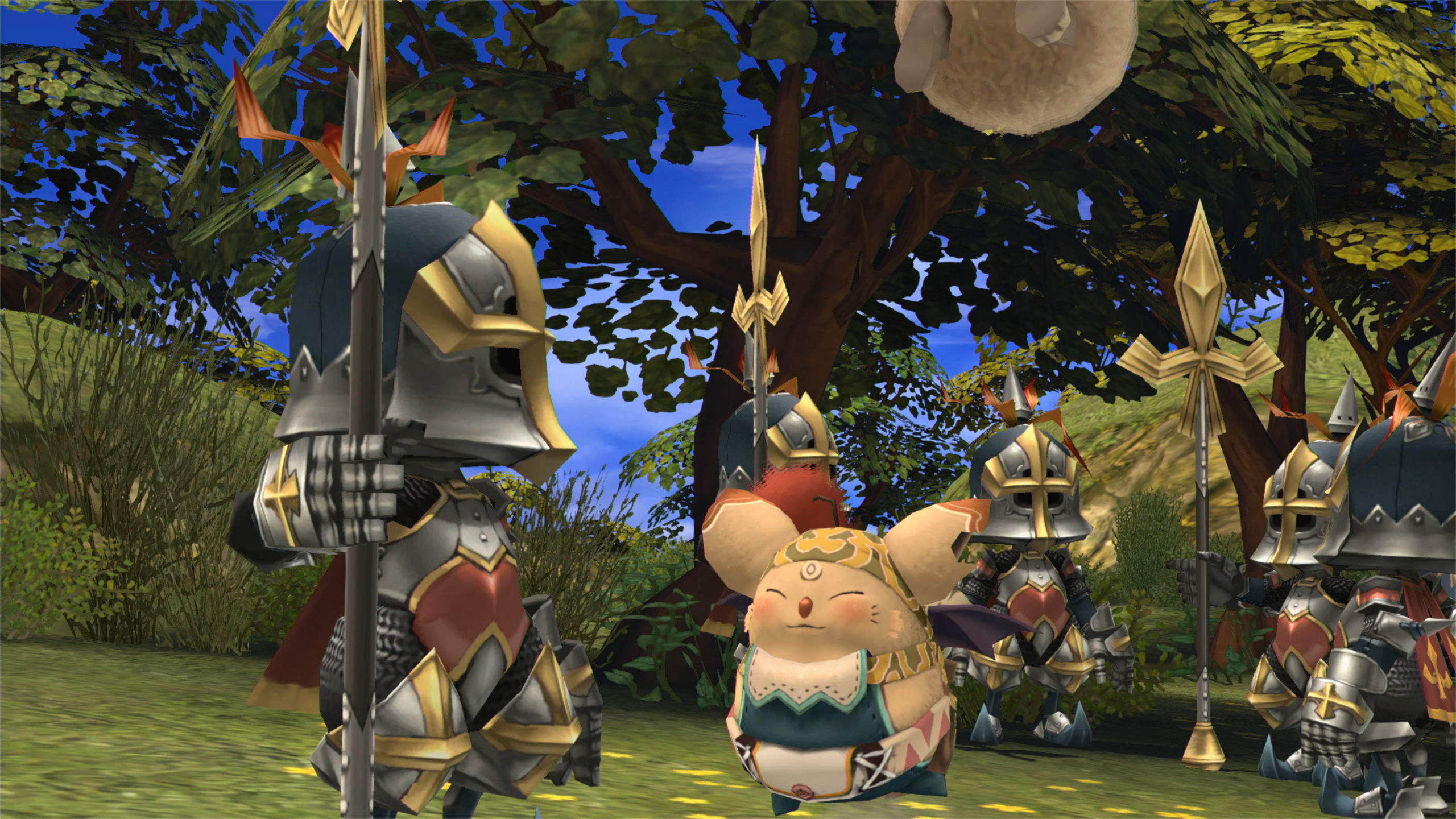 Screenshot From Final Fantasy Crystal Chronicles Remastered Edition Featuring A Moogle