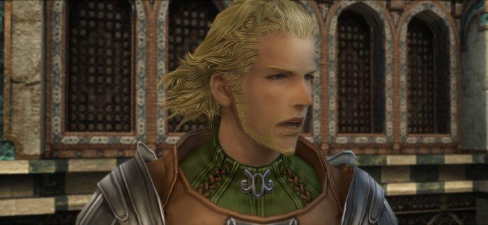A shot of Basch in Final Fantasy XII.