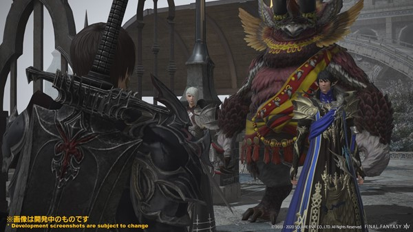Screenshot From Final Fantasy XIV Featuring Aymeric