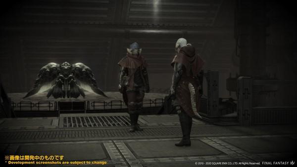 Screenshot From Final Fantasy XIV Featuring Emerald Weapon