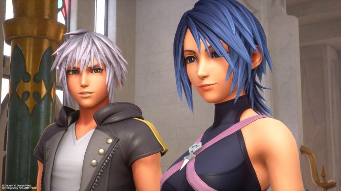Two friends from the ReMIND DLC in Kingdom Hearts III.