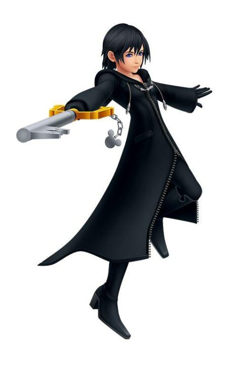 Artwork Of Xion From Kingdom Hearts Melody Of Memory