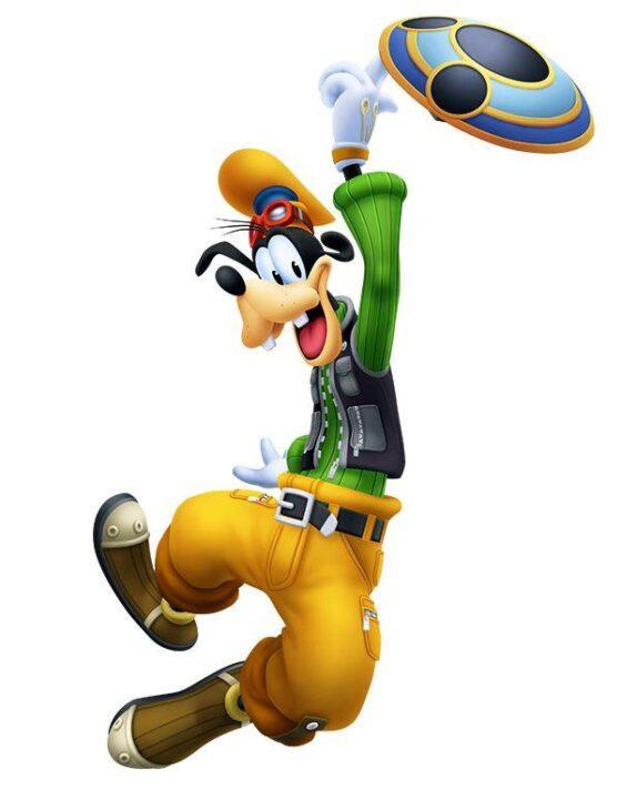 Artwork Of Goofy From Kingdom Hearts Melody Of Memory