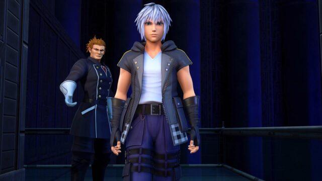 Screenshot From Kingdom Hearts Melody Of Memory Featuring Riku