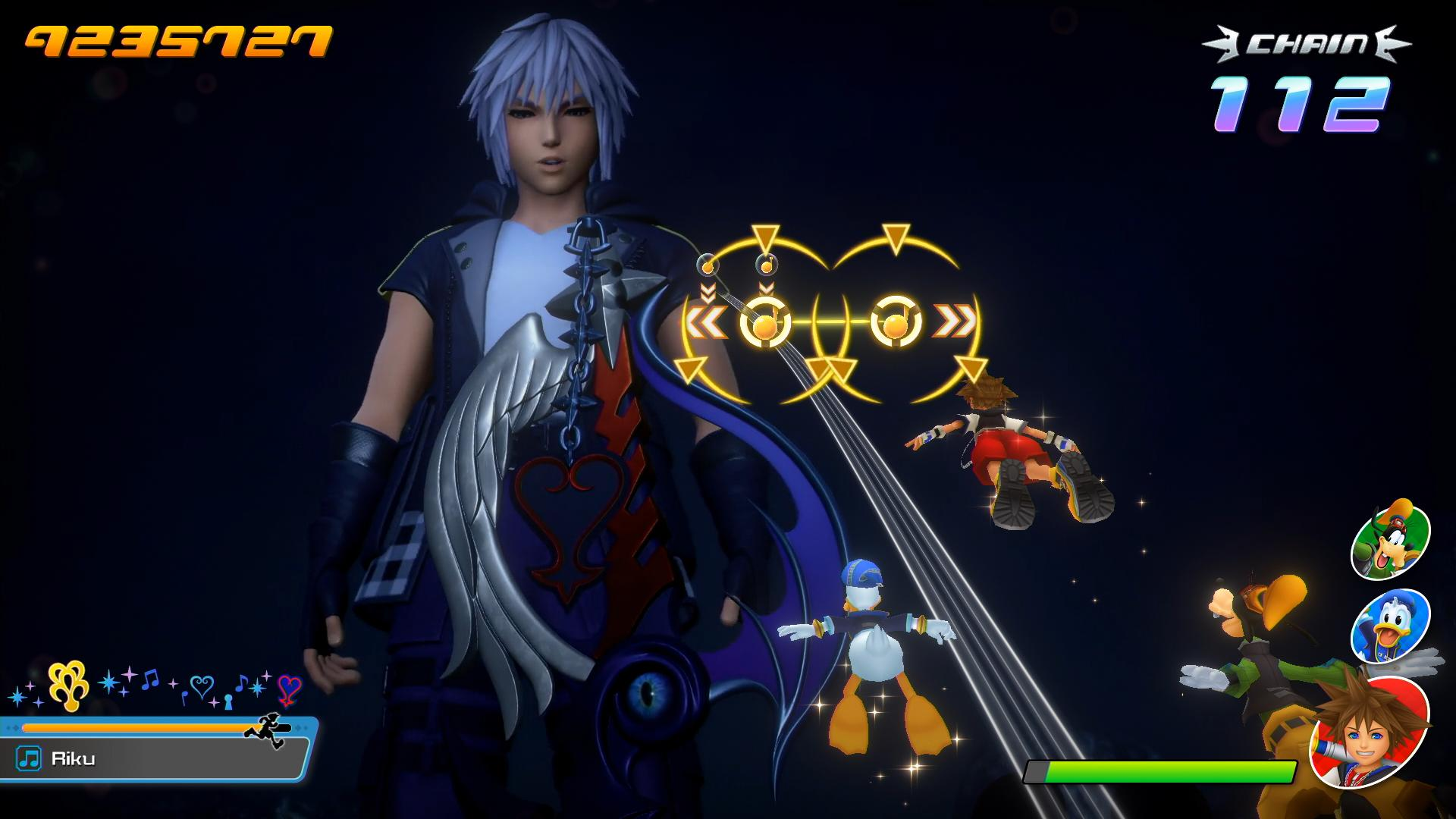 Screenshot From Kingdom Hearts Melody Of Memory Featuring Riku And His Broken Way To The Dawn Keyblade