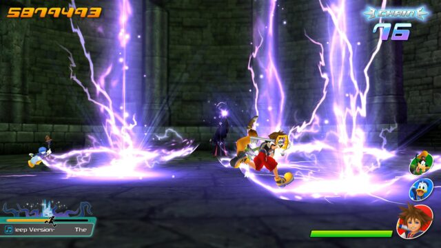 Screenshot From Kingdom Hearts Melody Of Memory Featuring A Boss Fight