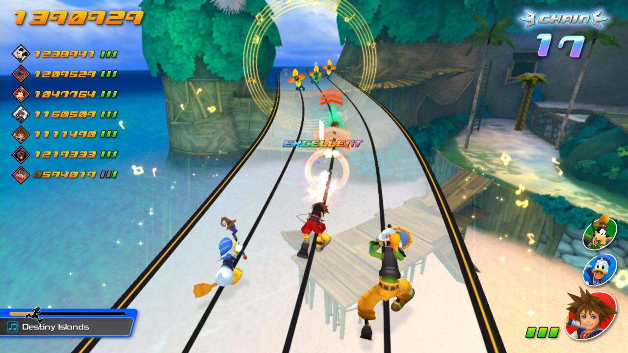 Screenshot From Kingdom Hearts Melody Of Memory Demo