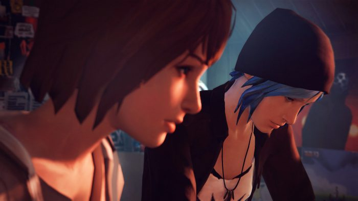 Max and Chloe in Life is Strange