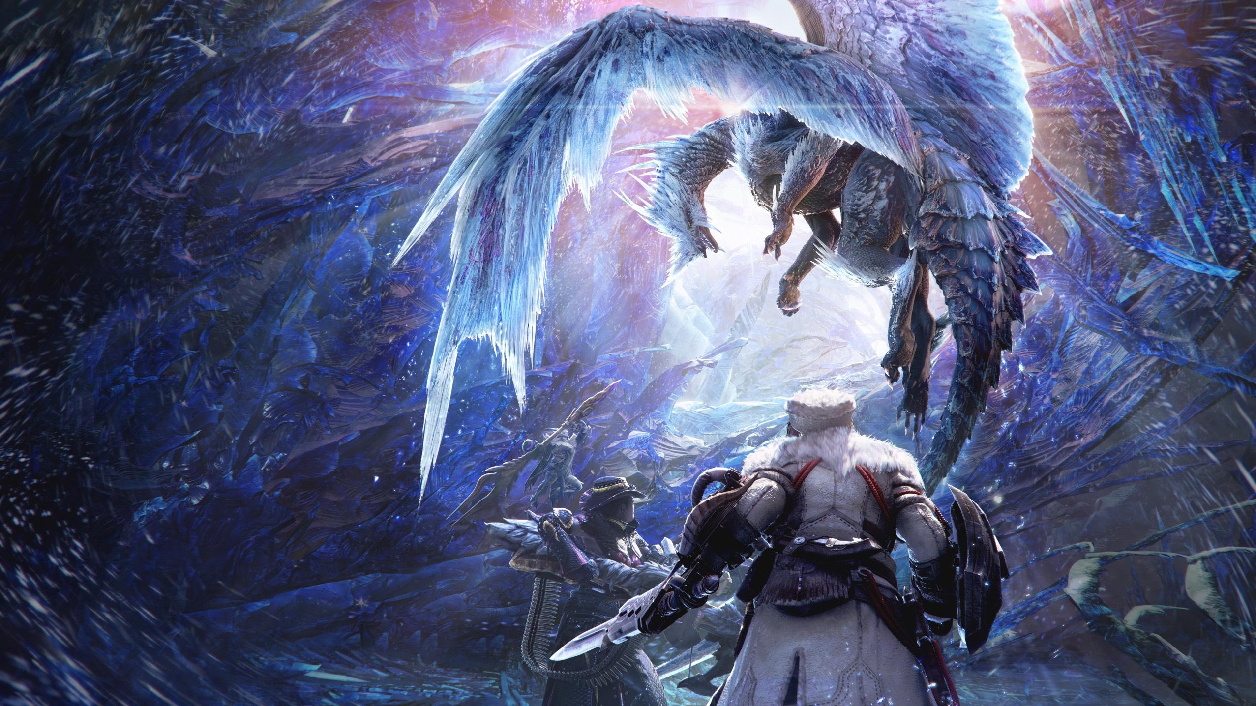 Artwork From Monster Hunter World Iceborne Featuring Elder Dragon