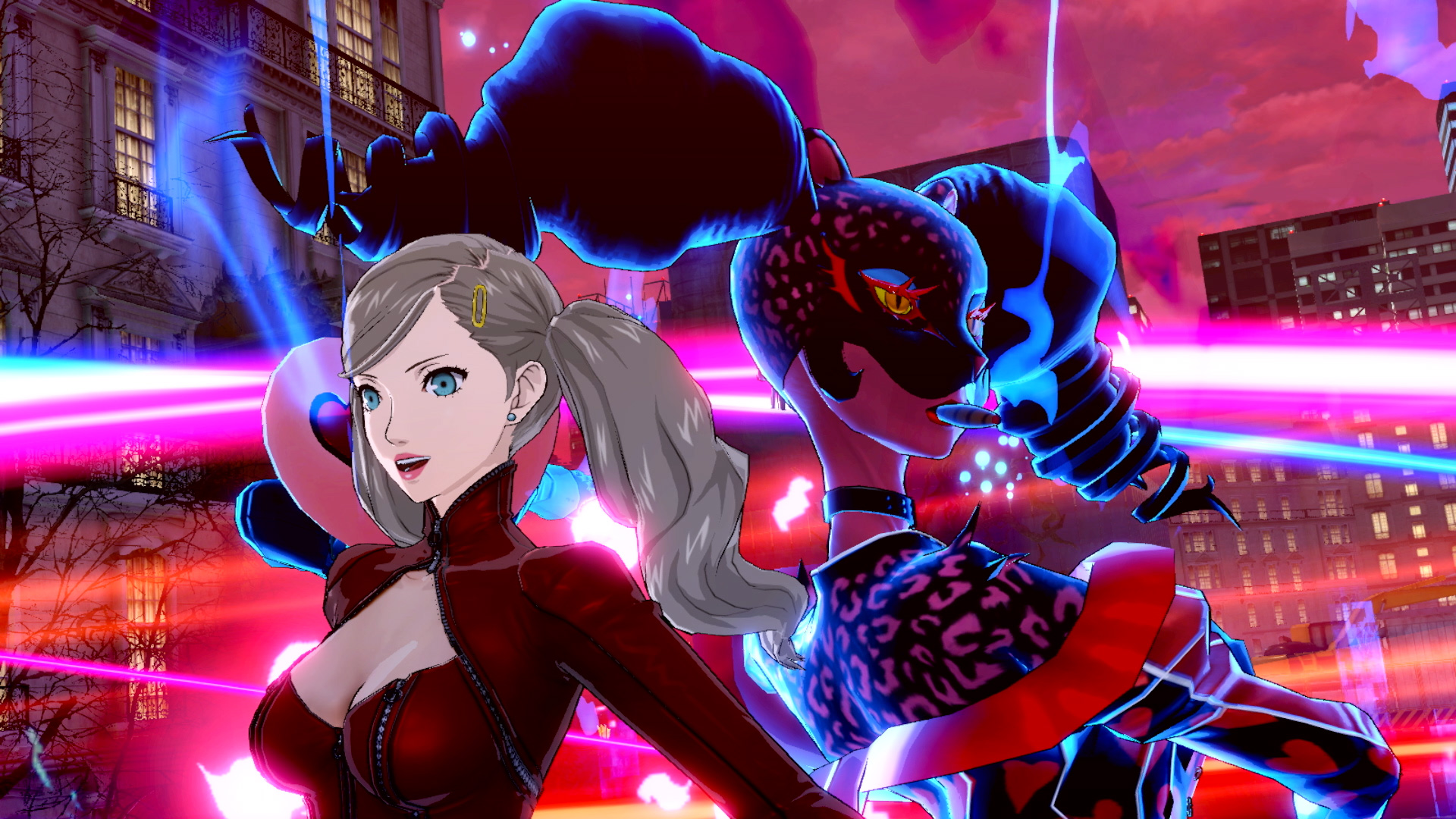 Persona 5 Strikers: Anna shows off with her Persona