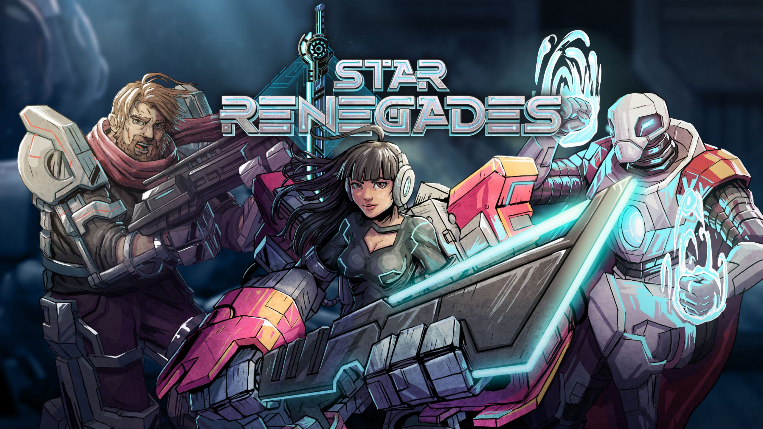 Artwork from Star Renegades