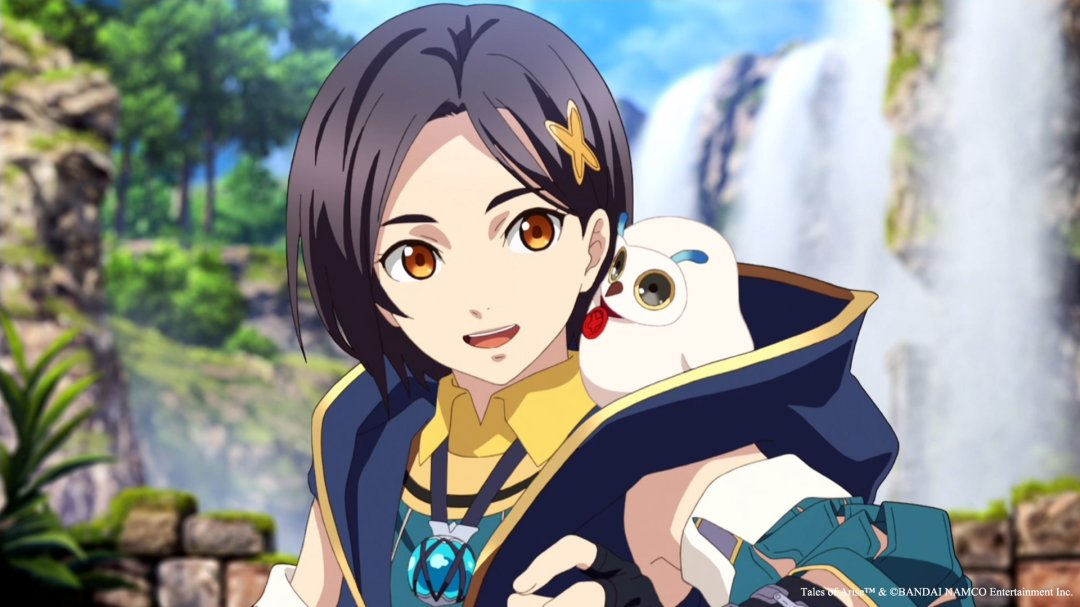 Rinwell and Hootle from the opening of Tales of Arise