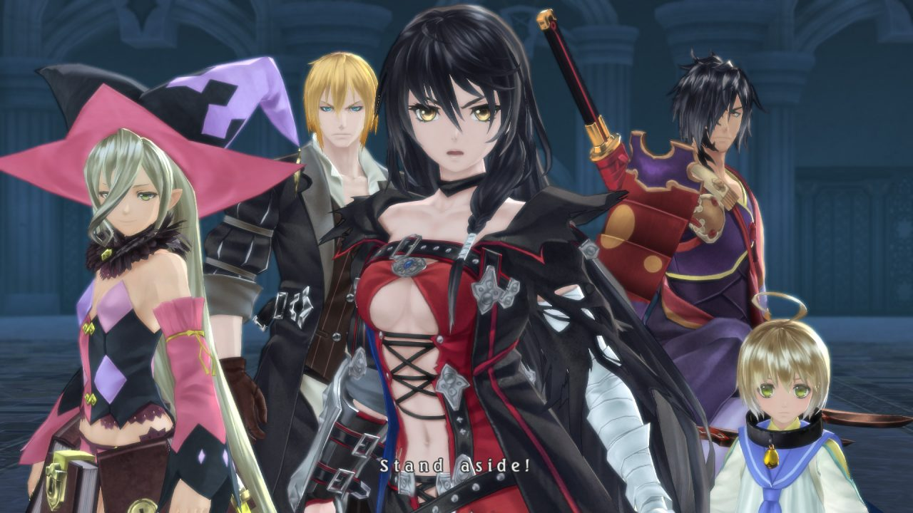 Velvet and the rest of the party in Tales of Berseria.