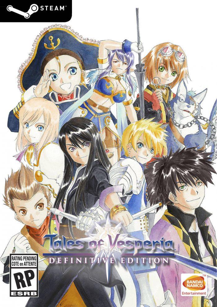 Tales of Vesperia Definitive Edition Cover Art (Steam)