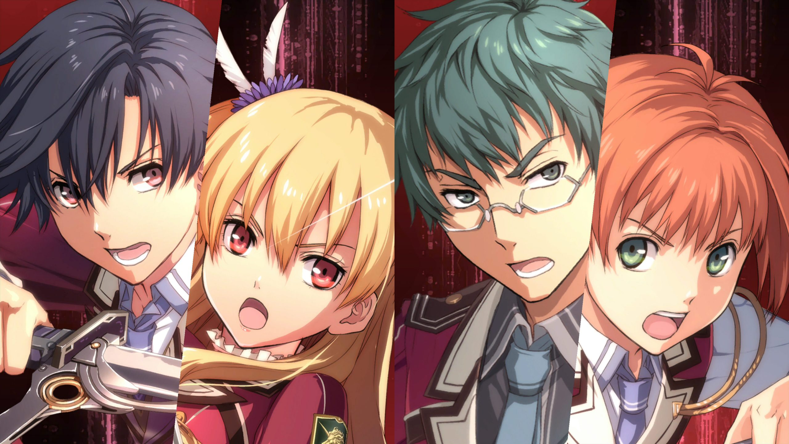 Trails of Cold Steel Character Headshots