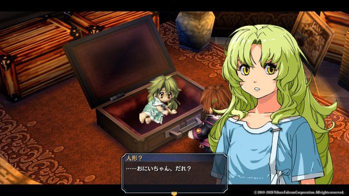 KeA is found in a suitcase in The Legend of Heroes: Zero no Kiseki Kai