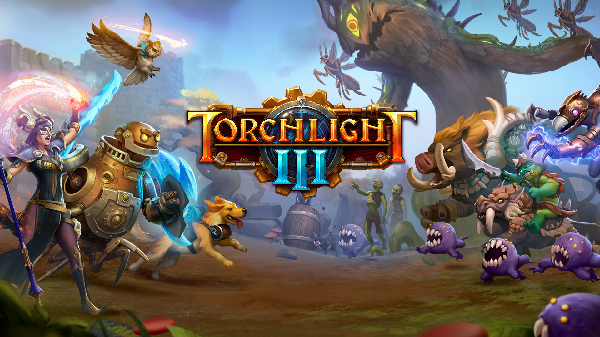 Key Art for Torchlight III