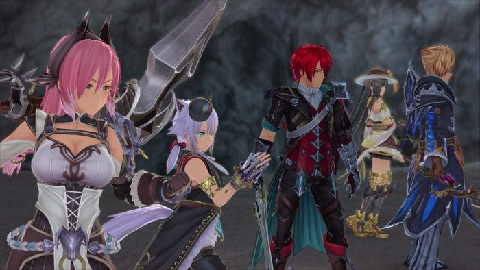 The Cast of Ys IX: Monstrum Nox Strikes A Pose In This Screenshot