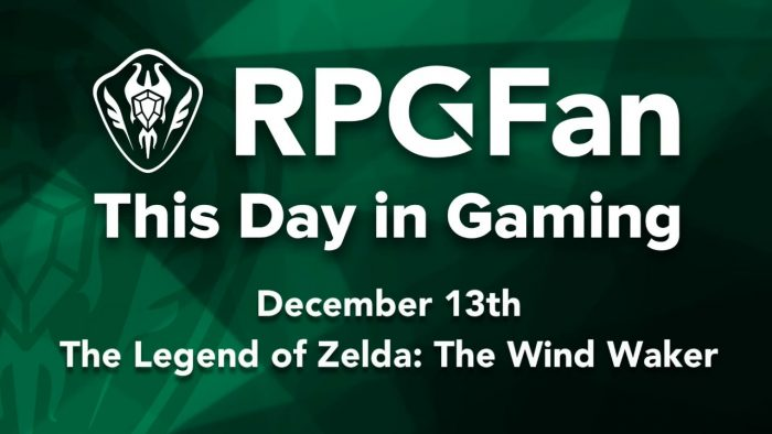 This Day in Gaming - December 13 - The Legend of Zelda: The Wind Waker