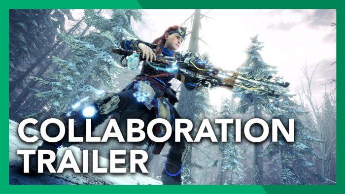 Monster Hunter World: Iceborne x Horizon Zero Dawn: The Frozen Wilds -Collaboration Trailer