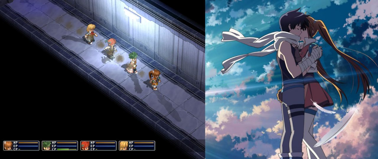 Estelle and Joshua Bright star in both Trails in the Sky SC and The Animation